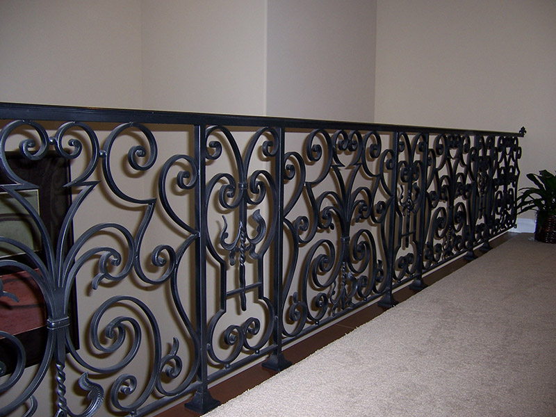 Metal works railings hci railing systems Decorative railings