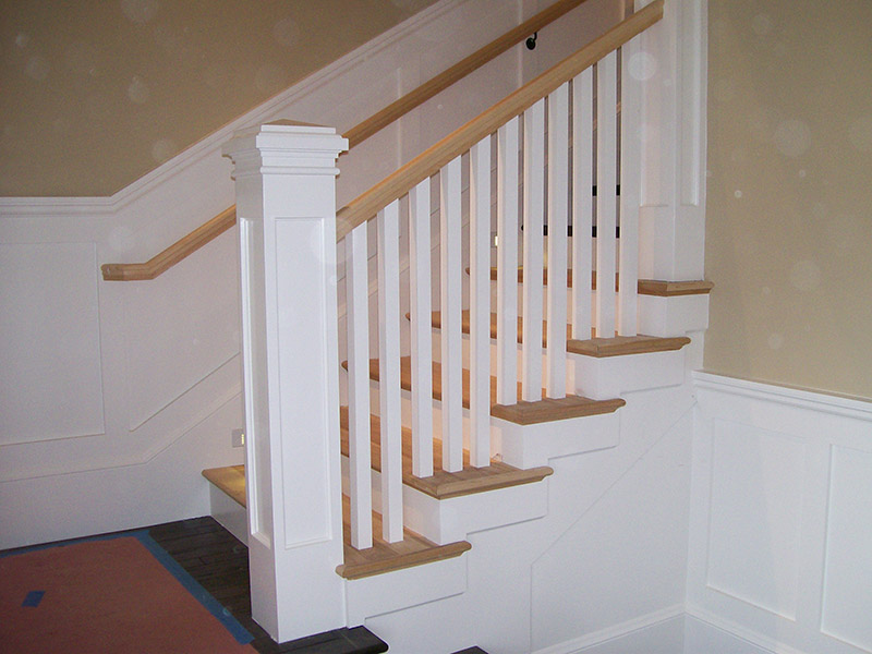 Decorative Recessed Box Newel