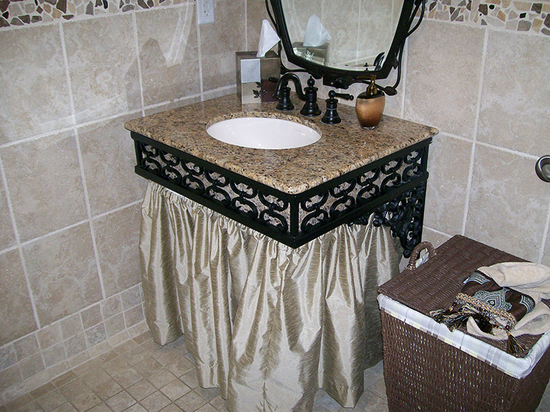 Decorative Sink Support