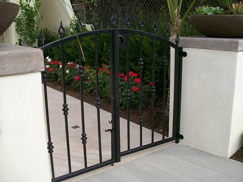 Double Door Steel Gate