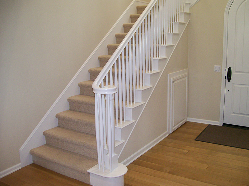Double Tapered Balusters With Volute