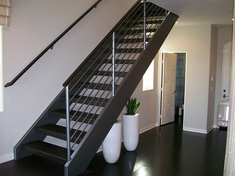 Free Standing All Steel Stair