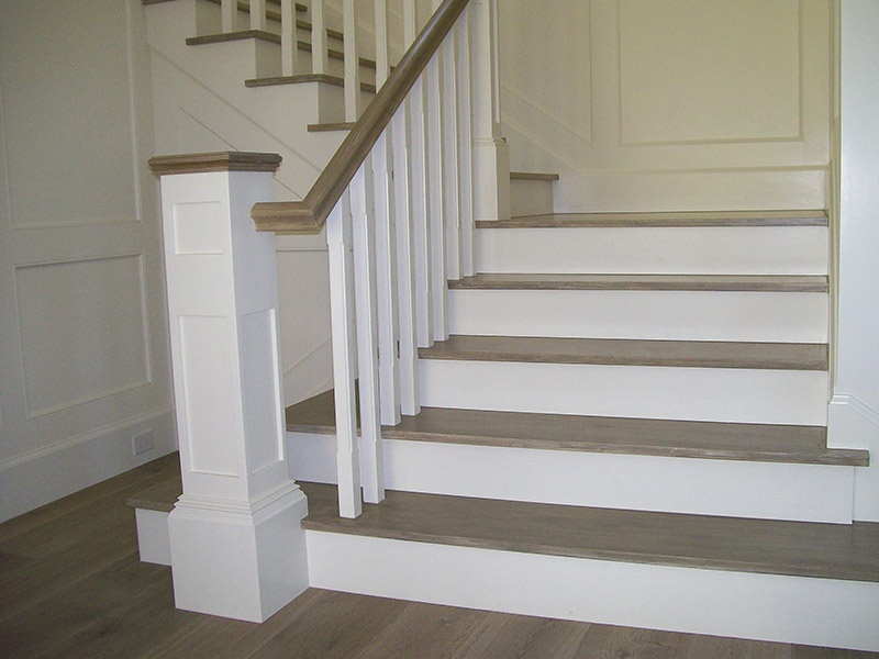 Large Recessed Panel Box Newel