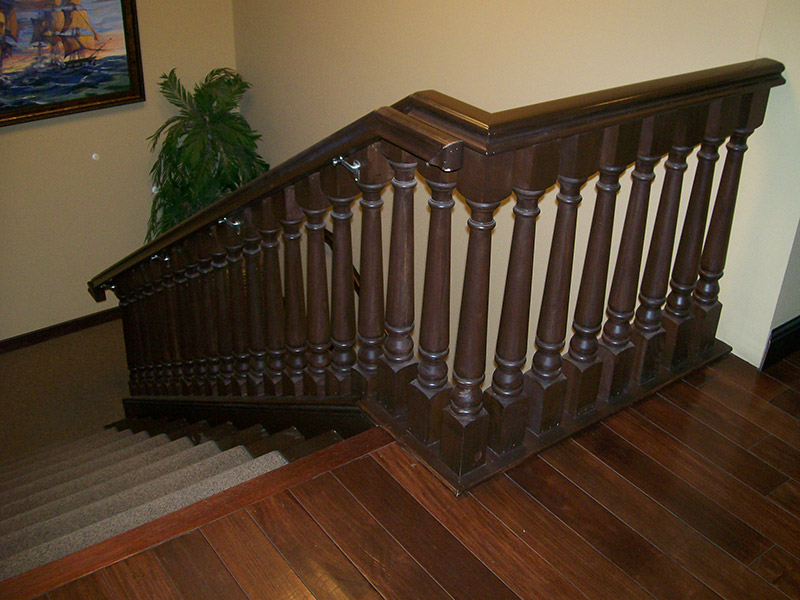 Oversized Turned Balusters