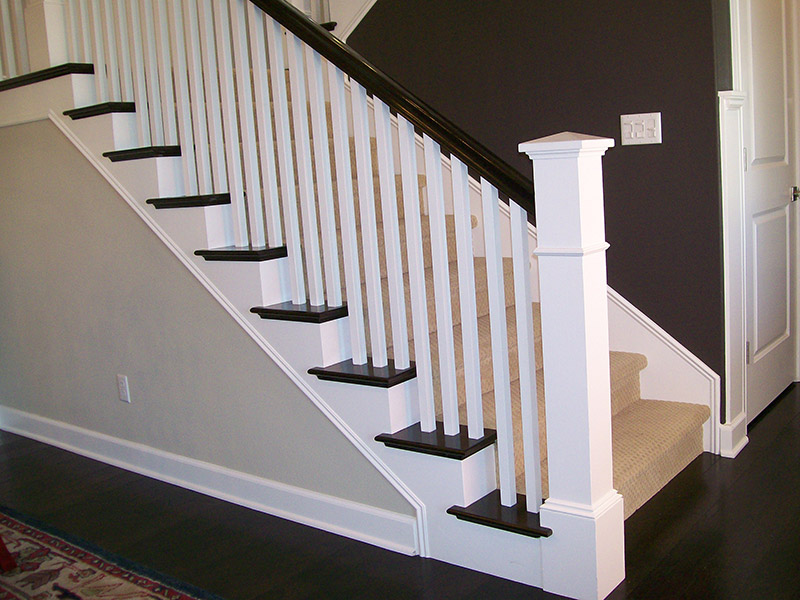 Split System With Box Newel