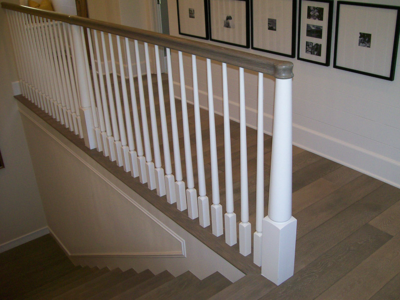 Tapered Newels And Balusters