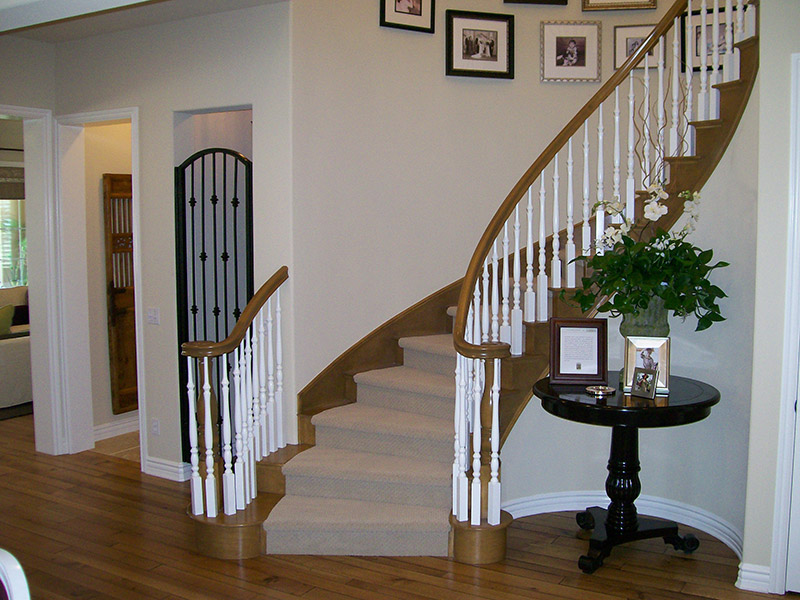 Turned Balusters And Volutes