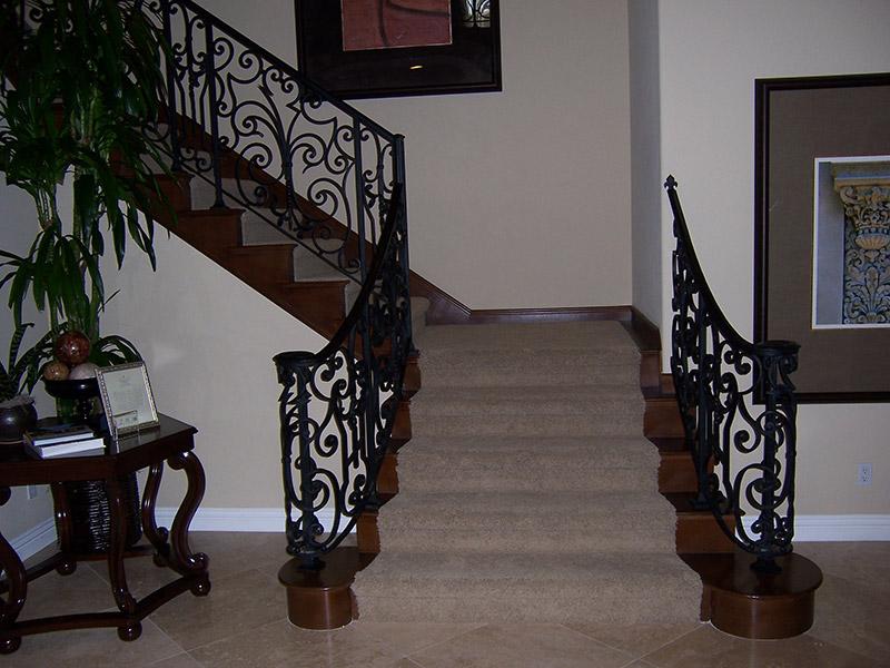Volutes And Decorative Panels