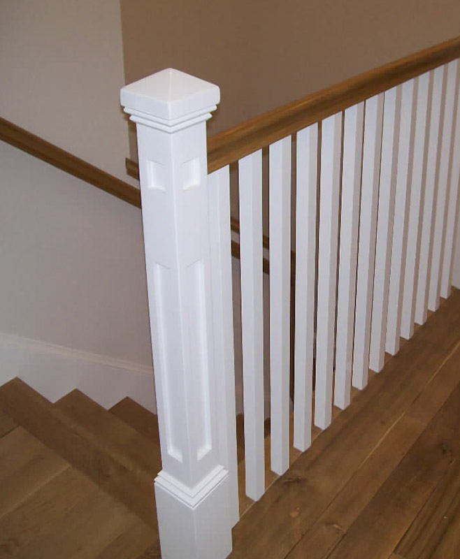 Spotlight on betzler residence hci railing systems - Interior stair railing contractors ...
