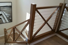 All-maple-X-panel-frame-with-stianless-cable-balustrade