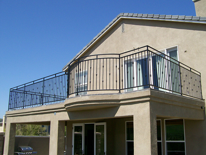 Exterior Deck With Border