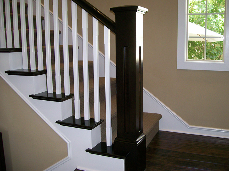 Split System With Coved Edge Balusters