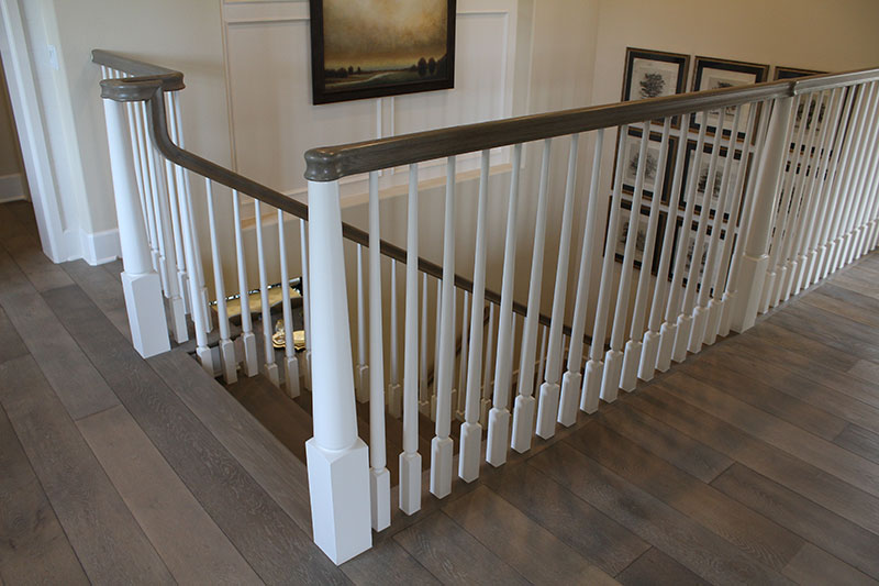 full white oak treads