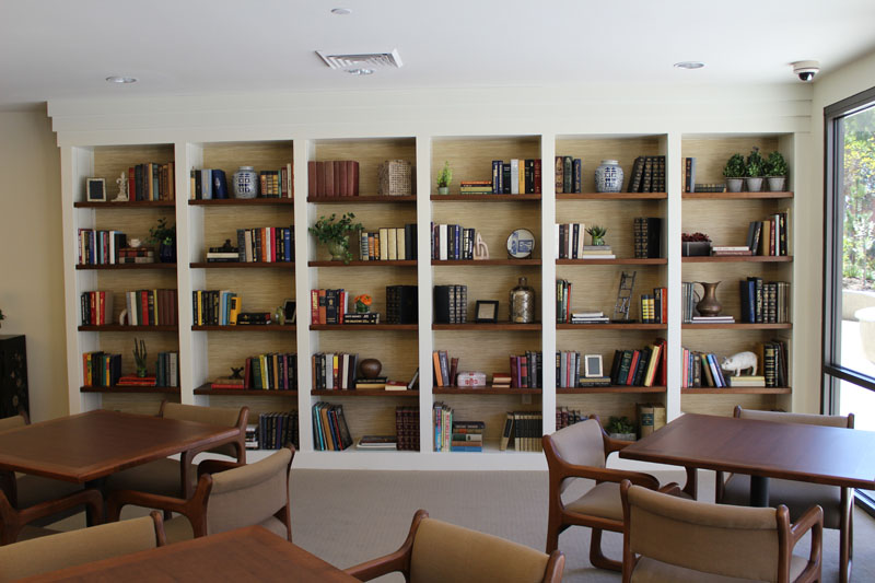 Custom Built in Bookcase